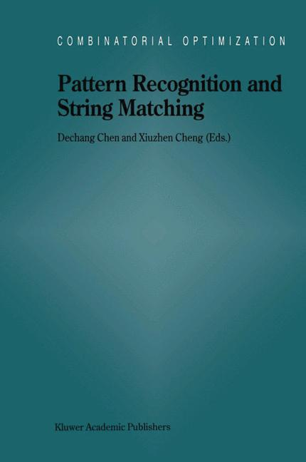 Cover of 'Pattern Recognition and String Matching'