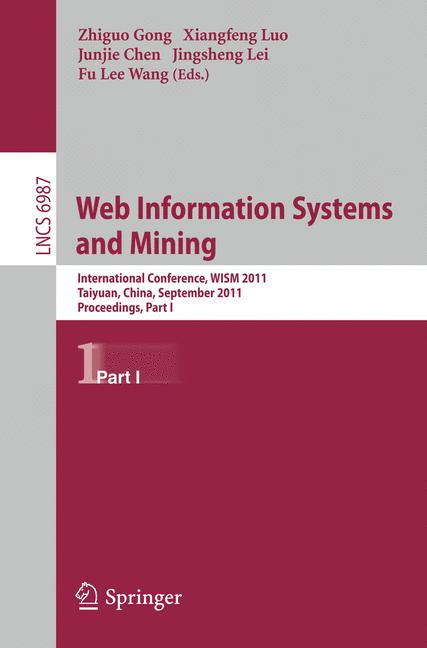 Cover of 'Web Information Systems and Mining'