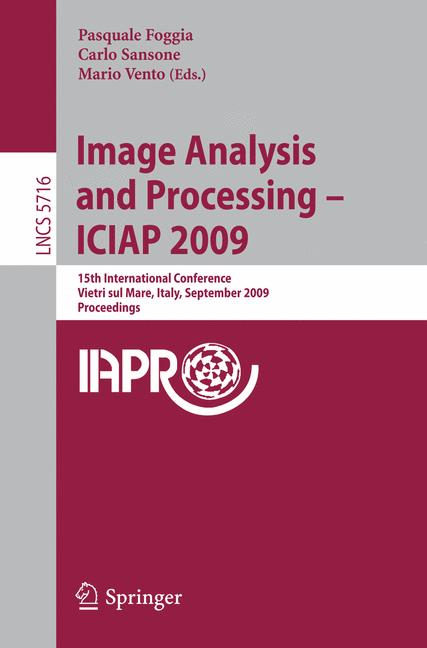 Cover of 'Image Analysis and Processing – ICIAP 2009'