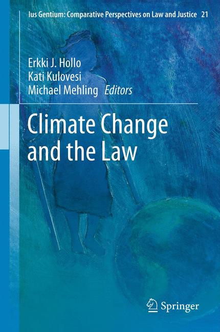 Cover of 'Climate Change and the Law'