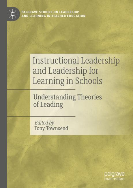 Cover of 'Instructional Leadership and Leadership for Learning in Schools'