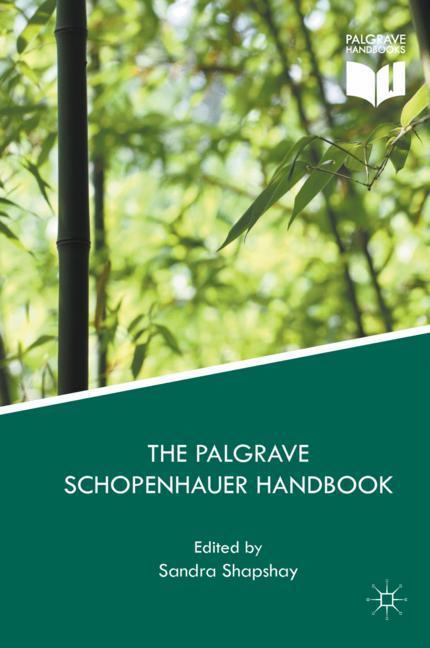 Cover of 'The Palgrave Schopenhauer Handbook'