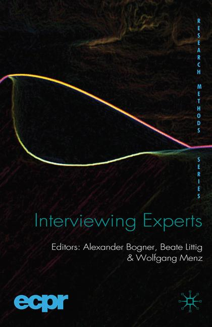 Cover of 'Interviewing Experts'