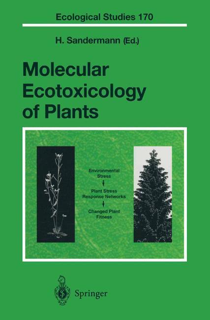 Cover of 'Molecular Ecotoxicology of Plants'