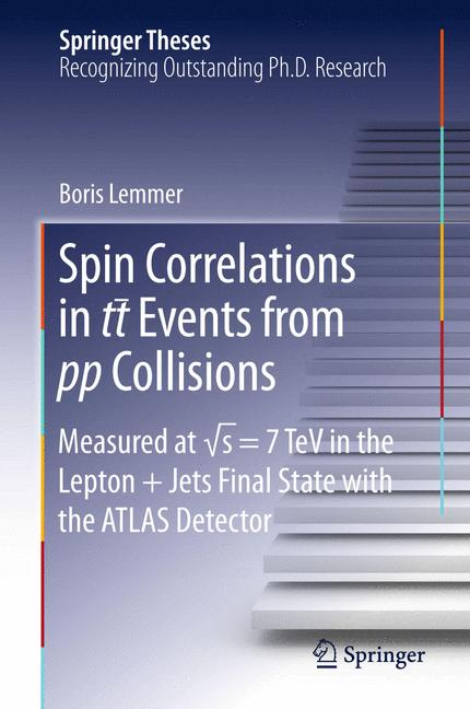 Cover of 'Spin Correlations in tt Events from pp Collisions'