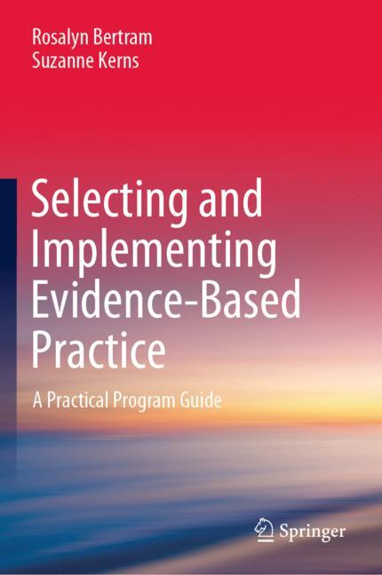 Cover of 'Selecting and Implementing Evidence-Based Practice'