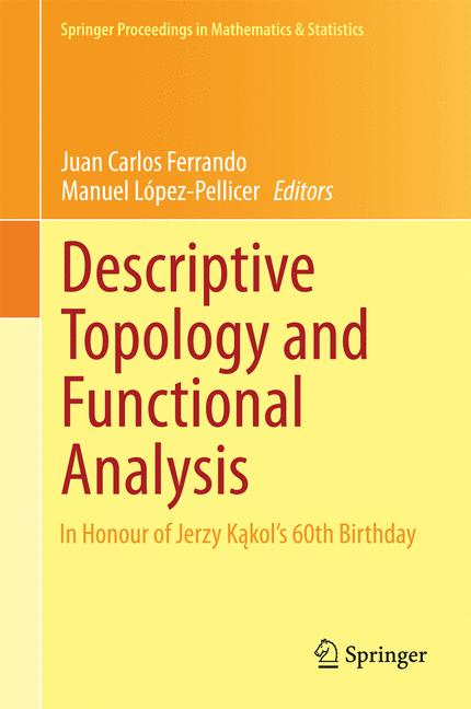Cover of 'Descriptive Topology and Functional Analysis'