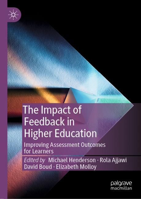 Cover of 'The Impact of Feedback in Higher Education'
