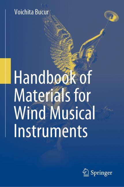 Cover of 'Handbook of Materials for Wind Musical Instruments'