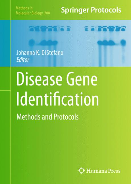 Cover of 'Disease Gene Identification'
