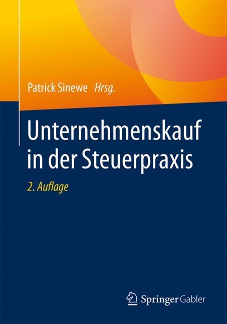 Cover of 'Unternehmenskauf in der Steuerpraxis'