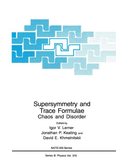 Cover of 'Supersymmetry and Trace Formulae'