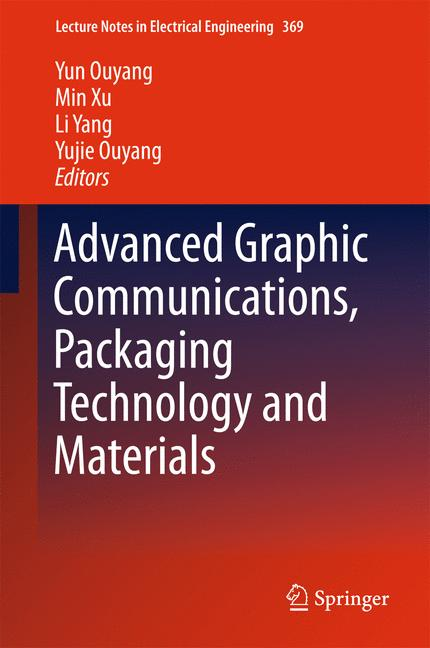 Cover of 'Advanced Graphic Communications, Packaging Technology and Materials'