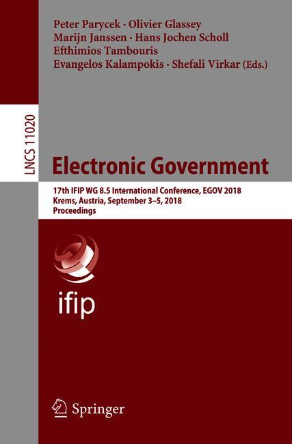 Cover of 'Electronic Government'