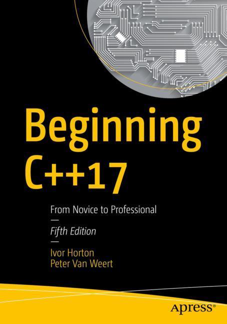 Cover of 'Beginning C++17'
