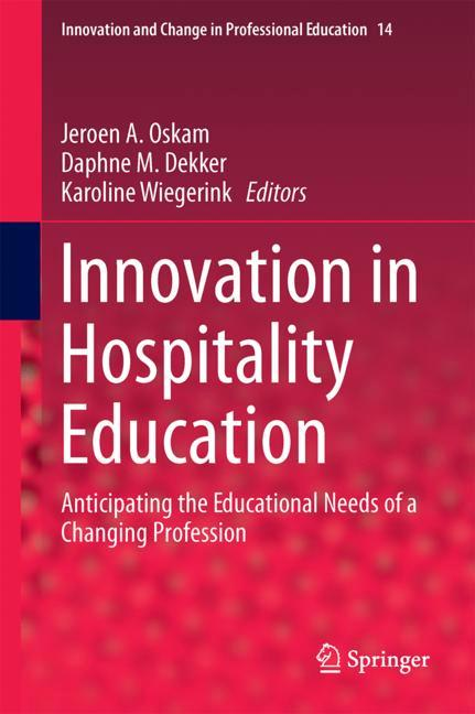 Cover of 'Innovation in Hospitality Education'