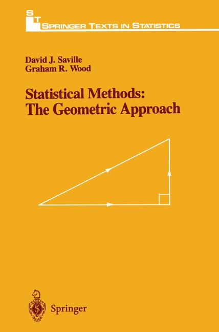 Cover of 'Statistical Methods: The Geometric Approach'