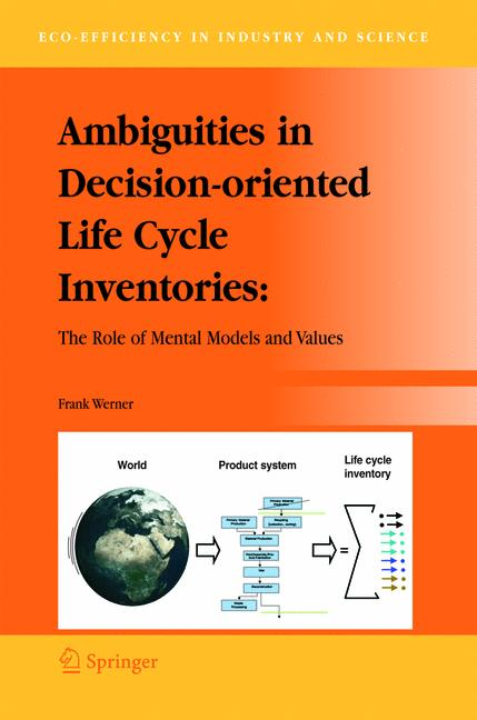 Cover of 'Ambiguities in Decision-oriented Life Cycle Inventories'
