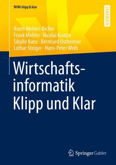 Cover of 'Wirtschaftsinformatik Klipp und Klar'