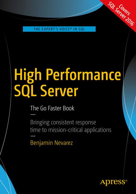 Cover of 'High Performance SQL Server'