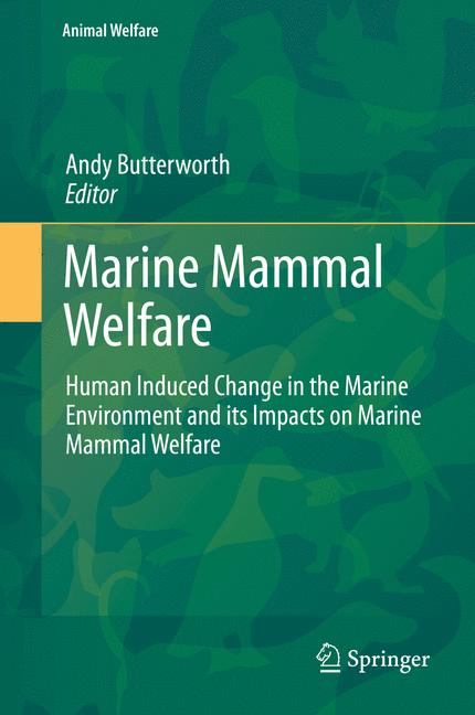 Cover of 'Marine Mammal Welfare'