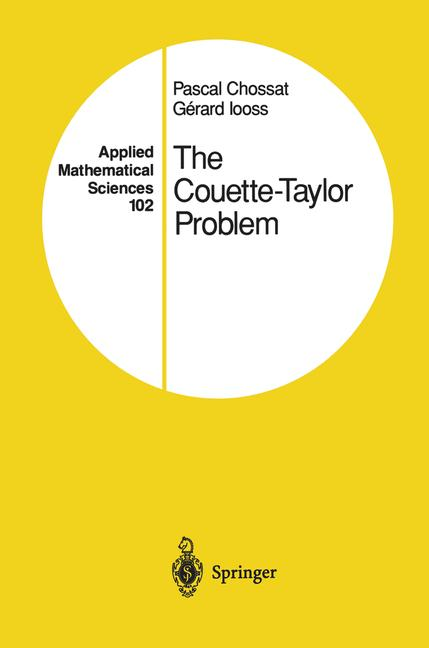 Cover of 'The Couette-Taylor Problem'