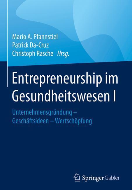 Cover of 'Entrepreneurship im Gesundheitswesen I'