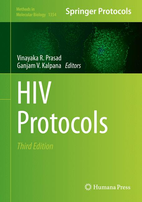 Cover of 'HIV Protocols'