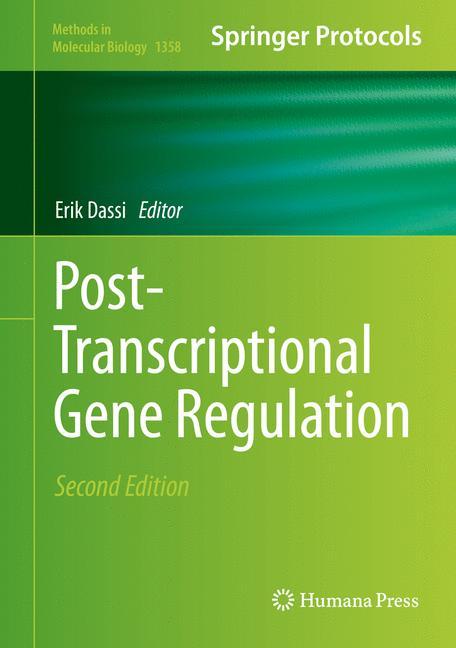 Cover of 'Post-Transcriptional Gene Regulation'