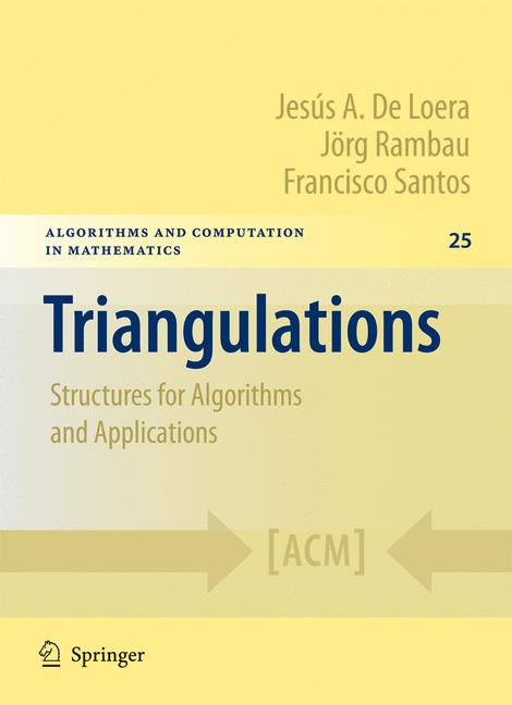 Cover of 'Triangulations'
