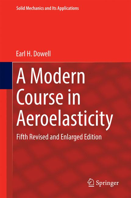 Cover of 'A Modern Course in Aeroelasticity'