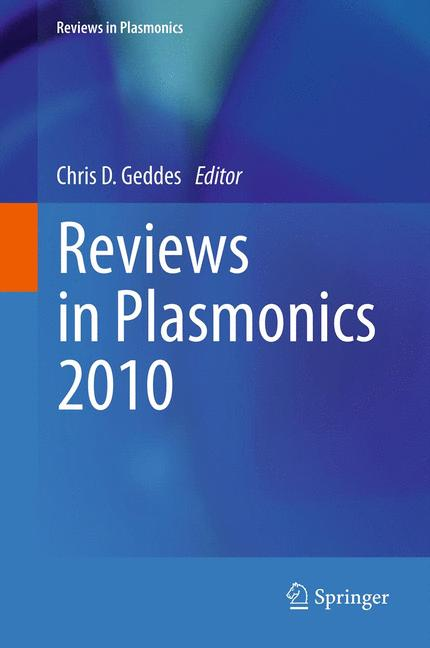 Cover of 'Reviews in Plasmonics 2010'