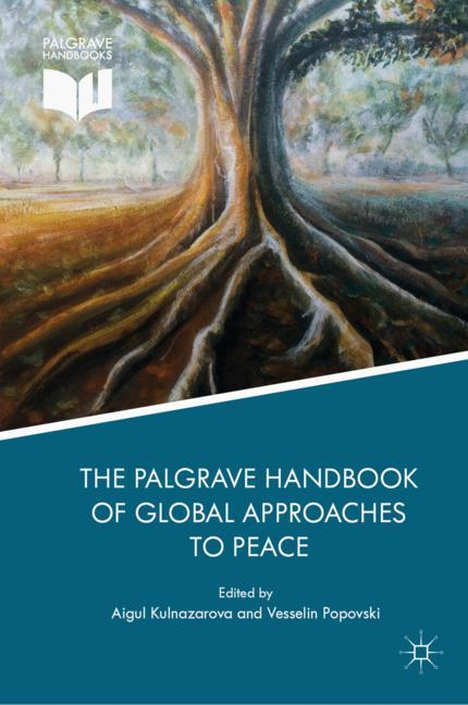 Cover of 'The Palgrave Handbook of Global Approaches to Peace'