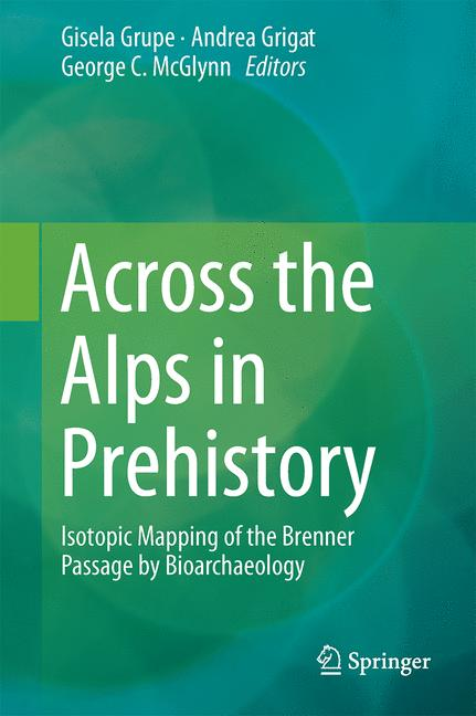 Cover of 'Across the Alps in Prehistory'