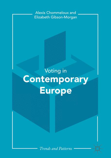 Cover of 'Contemporary Voting in Europe'