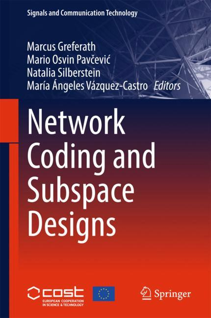 Cover of 'Network Coding and Subspace Designs'