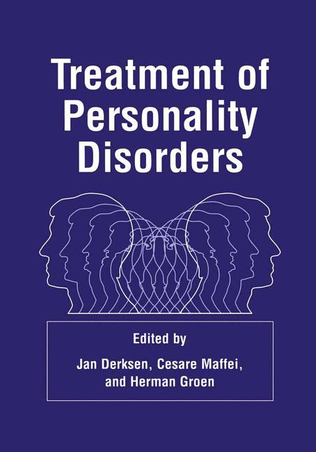 Cover of 'Treatment of Personality Disorders'
