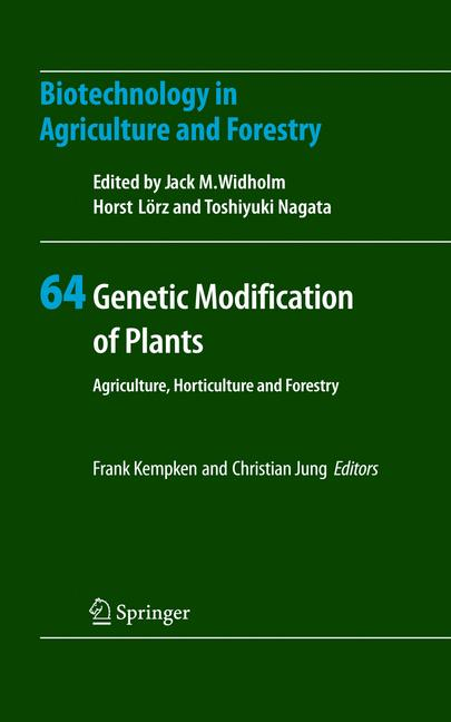 Cover of 'Genetic Modification of Plants'