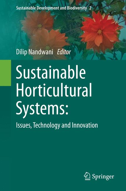Cover of 'Sustainable Horticultural Systems'