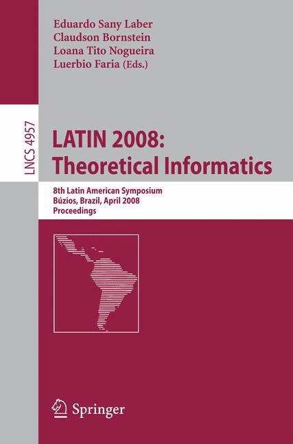 Cover of 'LATIN 2008: Theoretical Informatics'