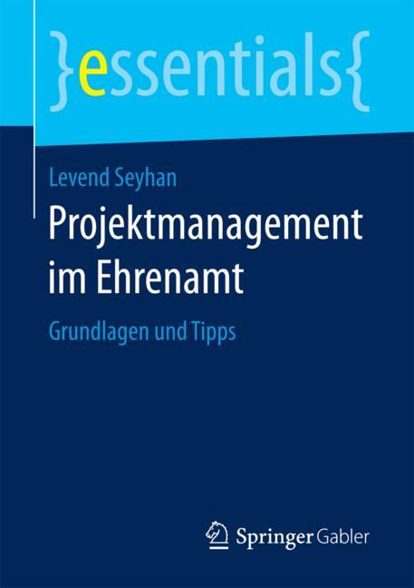 Cover of 'Projektmanagement im Ehrenamt'