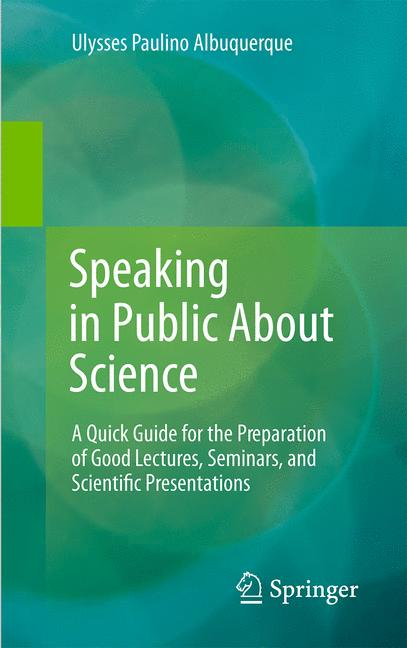 Cover of 'Speaking in Public About Science'