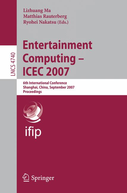 Cover of 'Entertainment Computing – ICEC 2007'