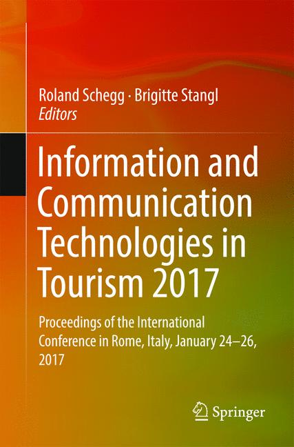 Cover of 'Information and Communication Technologies in Tourism 2017'