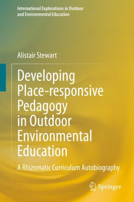 Cover of 'Developing Place-responsive Pedagogy in Outdoor Environmental Education'
