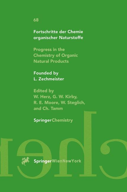 Cover of 'Progress in the Chemistry of Organic Natural Products'