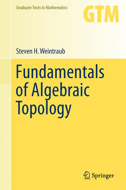 Cover of 'Fundamentals of Algebraic Topology'
