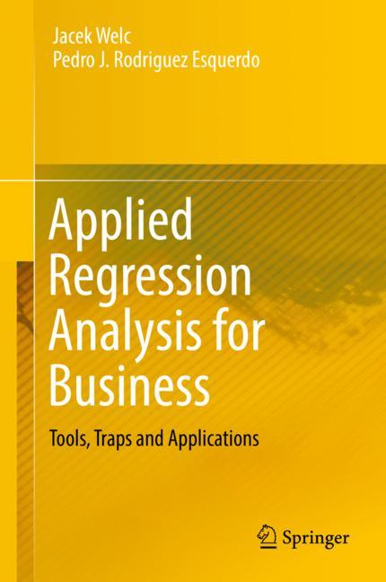 Cover of 'Applied Regression Analysis for Business'