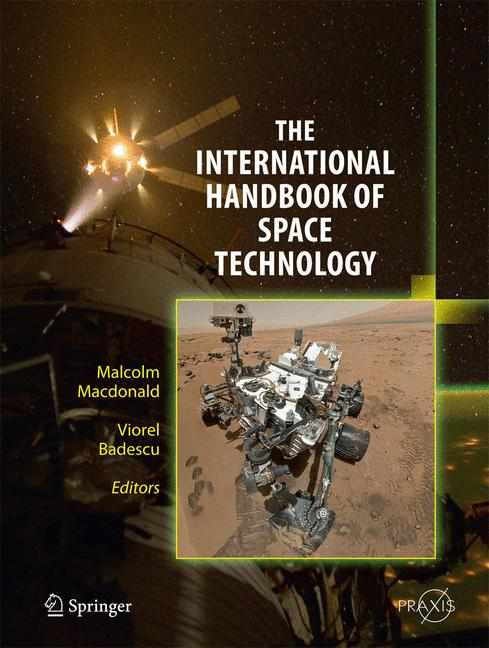 Cover of 'The International Handbook of Space Technology'