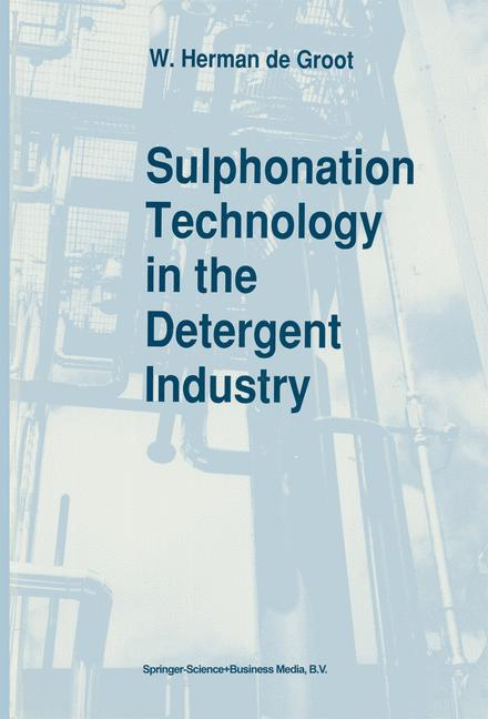 Cover of 'Sulphonation Technology in the Detergent Industry'